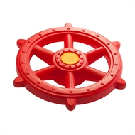 Swing Slide Climb Red Plastic Pirate Steering Wheel