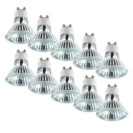 Arlec 50W 300lm Halogen GU10 Dimmable Globes Warm White - 10 Pack