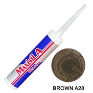 Maxisil A 300ml Brown Tile Silicone A28