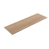 Flexi Storage 1200 x 350 x 16mm Oak Shelf