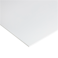 Suntuf 1200 x 600 x 3mm White PVC Palopaque Sheet