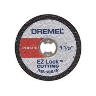 Dremel EZ476 EZ Lock Plastic Cut Off Wheel (5 pack)