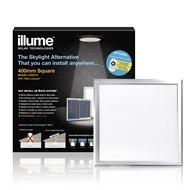 Illume 400mm Square Skylight Alternative