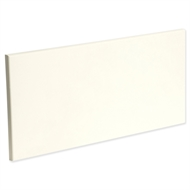 Kaboodle 600mm Modern 1 Drawer Panel - Antique White
