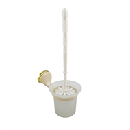 Enzo Barelli Beige Classico Toilet Brush And Holder