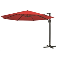 Mimosa 3.5m Red Round Koko Cantilever Umbrella
