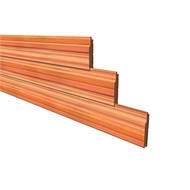 86 x 18mm Shiplap Tonge And Groove Eased Edge Cedar Cladding - Per Linear Metre