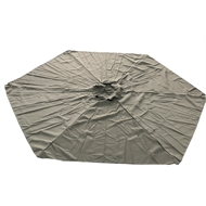 Marquee 3m Jasper Round Canopy - Charcoal