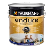Taubmans Endure 15L Matt White Interior Wall Paint