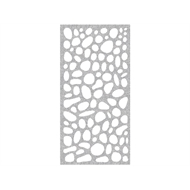 Protector Aluminium 900 x 1200mm ACP Riverstone Decorative Unframed Panel - Silver Sparkle