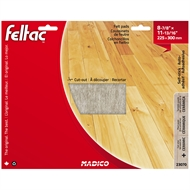 Madico 300 x 240mm Beige Feltac Floor Protection Pad