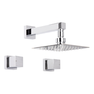 Mondella WELS 3 Star Chrome Rococco Shower Set