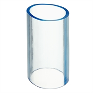 Pope 25mm x 70mm Tube Clear Vinyl Fitting Joiner