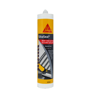 Sika 300ml Grey SikaSeal Roof And Gutter Silicone Sealant