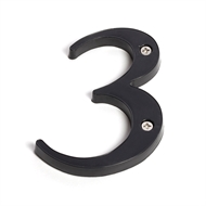 Sandleford 85mm 3 Black Plastic Numeral