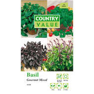 Country Value Gourmet Mixed Basil Seeds