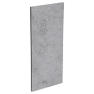 Kaboodle Light Truffle Wall End Panel