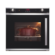 Everdure 60cm 73L 8 function built-in side opening electric oven