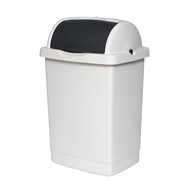 Willow 25L Light Grey/Dark Grey Rolltop Bin