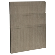 Kaboodle 600mm Urban Oak Country 3 Drawer Panels