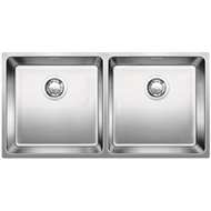 Blanco Double Bowl With Overflow Inset Flushmount Sink