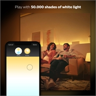 Philips Hue White Ambiance Edison Screw (E27) Dimmable LED Smart Bulb