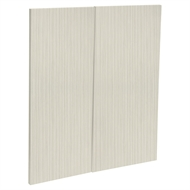 Kaboodle Mallow Grain Modern Base Corner Door - 2 Pack