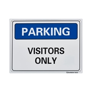Sandleford 300 x 225mm Visitor Parking Plastic Sign