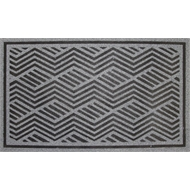 Bayliss 45 x 75cm Black And Grey Quartz Outdoor Mat