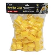 Whites 16 - 20mm Yellow Reinforcing Bar Caps - 40 Pack