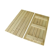 Good Times 4.464 x 4.464m Treated Pine 16 x Module Decking Kit