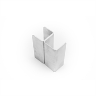 Ridgi 50 x 50 x 650mm Galvanised Steel Corner Post