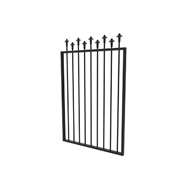Protector Aluminium 975 x 1500mm Custom Hi-Lo Spear Top Gate