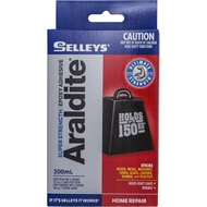 Selleys 200ml Araldite Super Strength Epoxy Adhesive