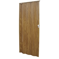 Pillar Products 15 x 203cm Walnut Alpine PVC Concertina Door Panel