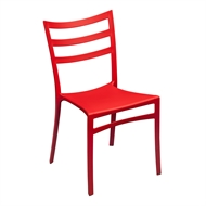 Tusk Living Red Cafe Chair