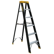 Gorilla 1.8m 120kg Single Sided Fibreglass Step Ladder