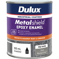 Dulux Metalshield 500ml Gloss Woodland Grey Topcoat Epoxy Enamel Paint