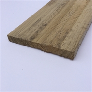 150 x 25mm 2.4M Rough Sawn Treated Pine