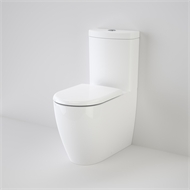 Caroma WELS 4 Star Kari Walled Faced Toilet Suite
