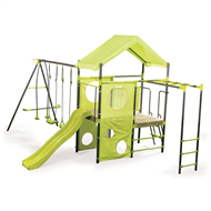 Swing Slide Climb Manor Swing Set