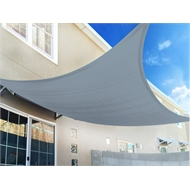Marquee 3 x 3m Cool Grey Square Shade Sail