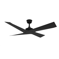 Threesixty 52 Inch Black Modn-4 Ceiling Fan