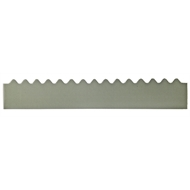 GumLeaf 1200mm Colorbond Metal Corrugated Gutter Guard - Terrain