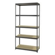 Montgomery 1830 x 910 x 410mm 5 Tier Shelving Unit