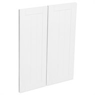Kaboodle Vanilla Essence Country Corner Wall Cabinet Doors - 2 Pack