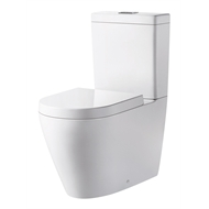 Mondella WELS 4 Star 3-4.5L/min White Concerto Back To Wall Toilet Suite