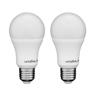 Luce Bella 10W 806lm A60 Daylight ES Globe - Twin Pack