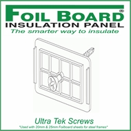 Foilboard Ultra Steel Insulation Screws