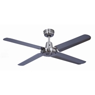 Mercator 120cm Brushed Chrome Swift Ceiling Fan